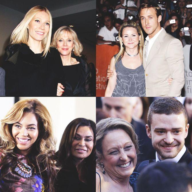 Les stars et leur maman