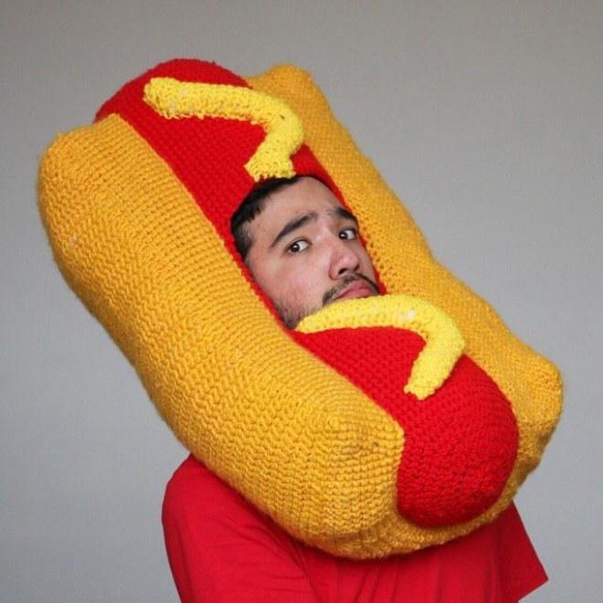 Le chapeau hot dog