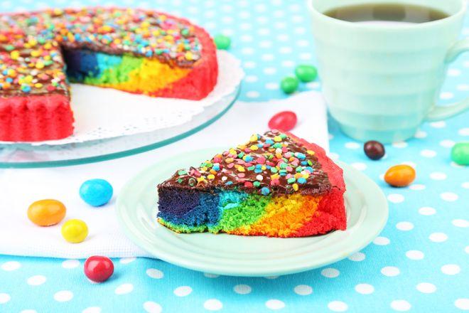 Le gateau rainbow