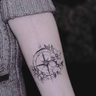 50 idee per tatuaggi che ti faranno viaggiare... sulla tua pelle!