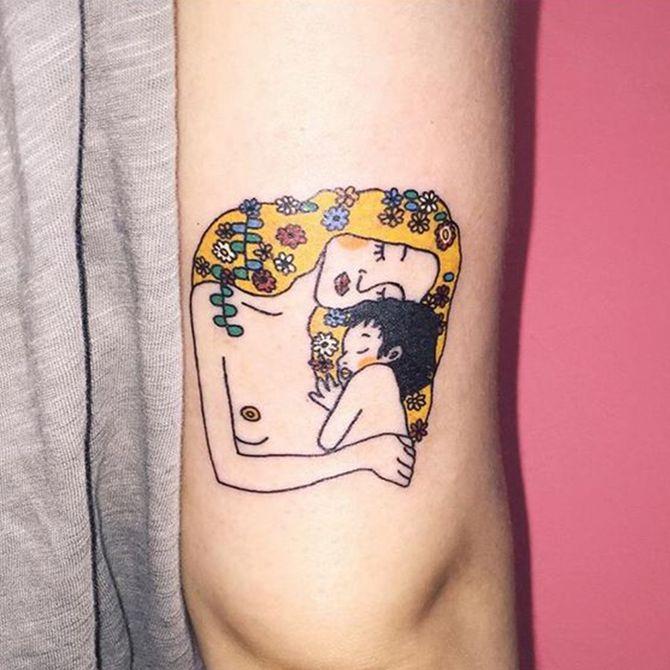 70 tatuaggi per le mamme che vogliono esprimere l'amore per i loro figli