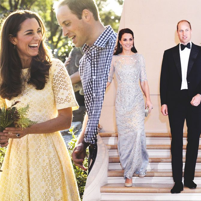 Retour sur les looks de Kate Middleton et du prince William
