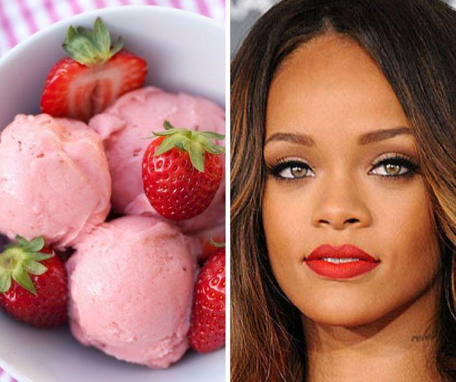 Rihanna aime la glace. Toutes les glaces !