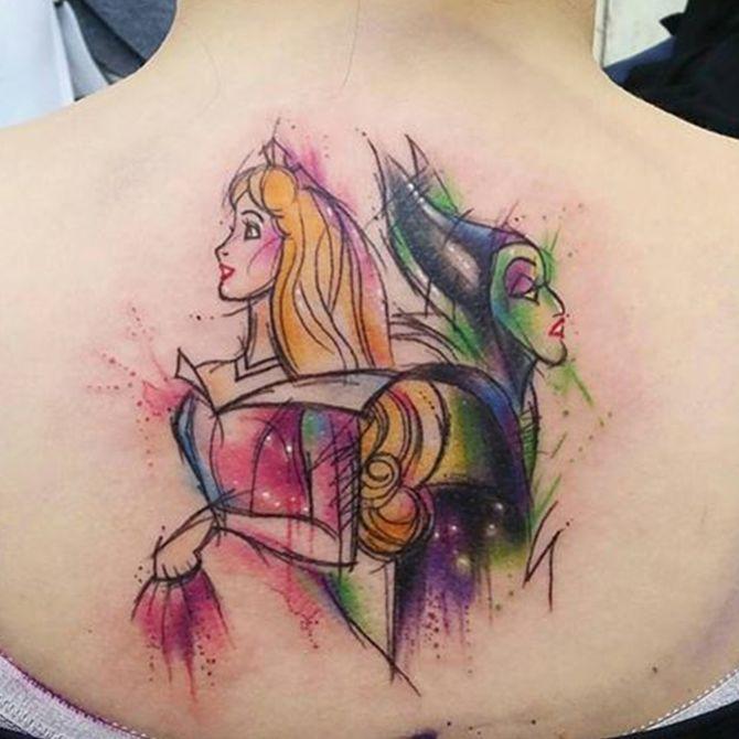 I tatuaggi Disney per tornare indietro nel tempo!