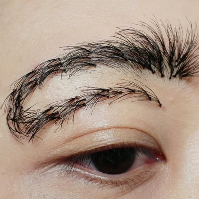 U-turn brows