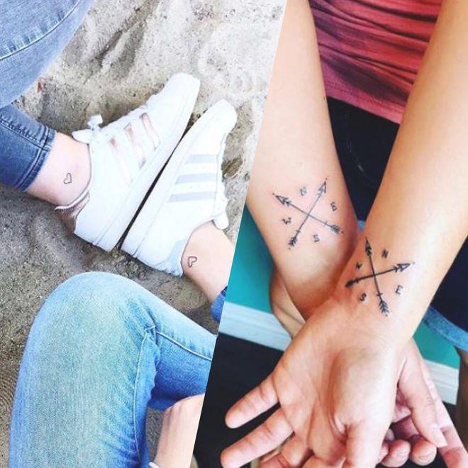 Tatouage Amitié 50 Idées De Tattoos à Partager Avec Sa Bff Album