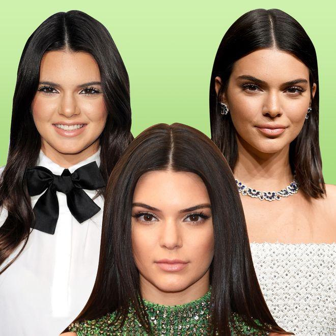 La evolución facial de Kendall Jenner
