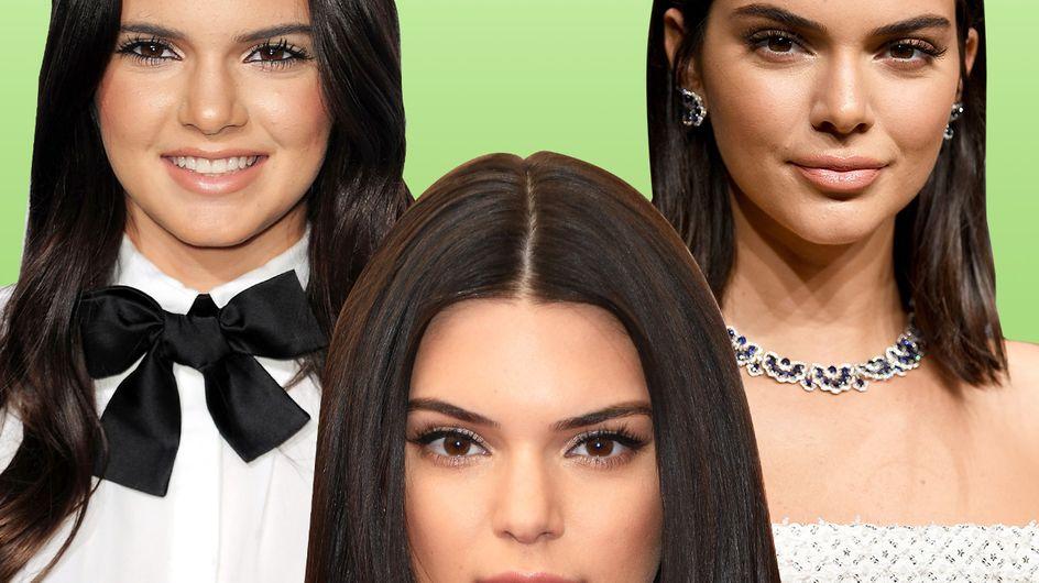Kendall Jenner: su evolución facial a través de los años