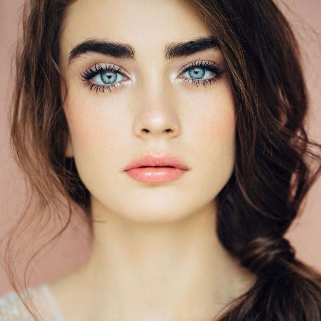 Maquillaje para ojos azules