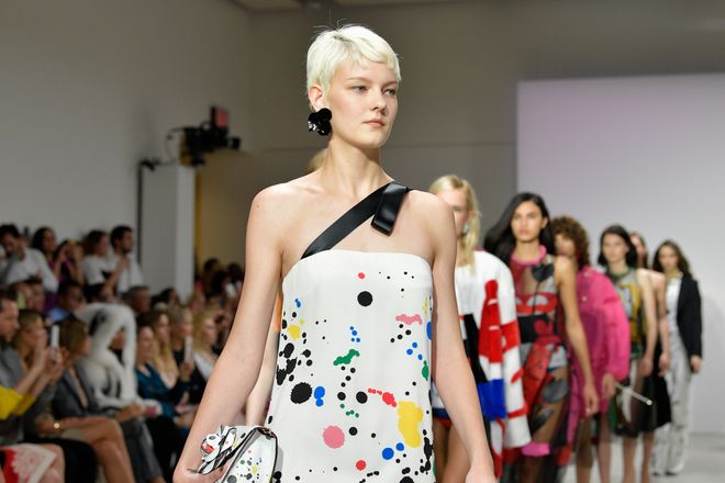 Óscar de la Renta primavera verano 2018 Madrid Fashion Week