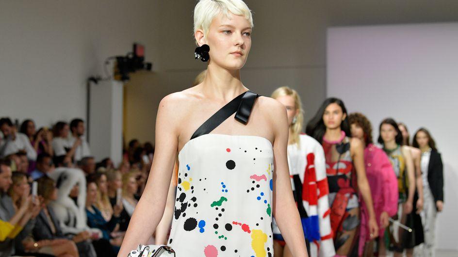 Los vestidos de tul de Óscar de la Renta conquistan Nueva York
