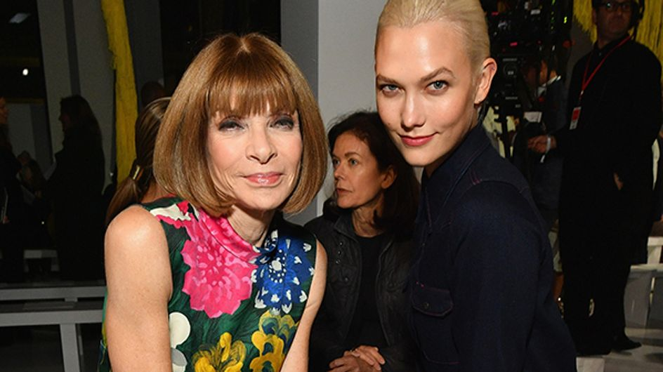 Celebrities At Fashion Week: Front Row Celebs