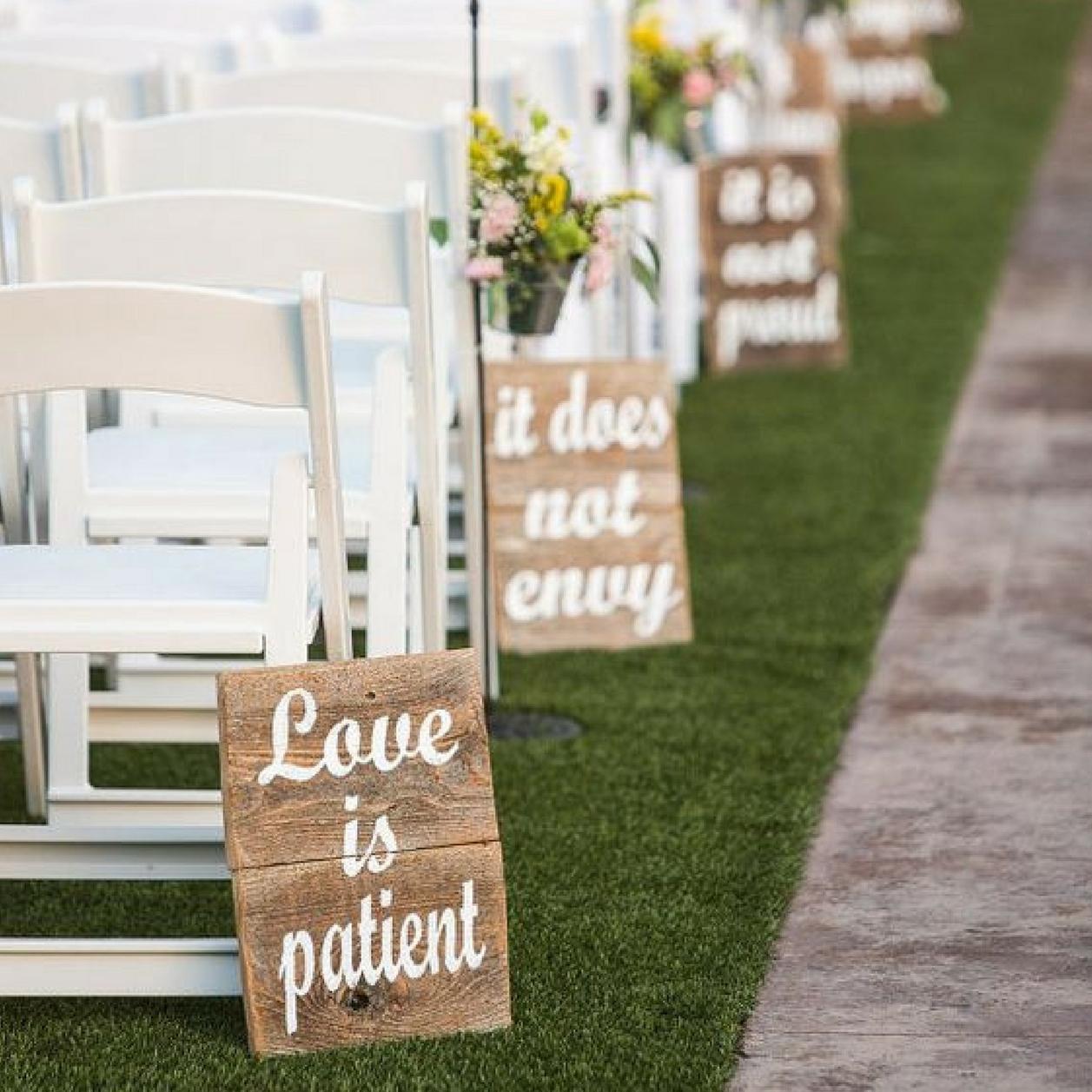 50 Idee Di Decorazioni Per Un Matrimonio Fai Da Te