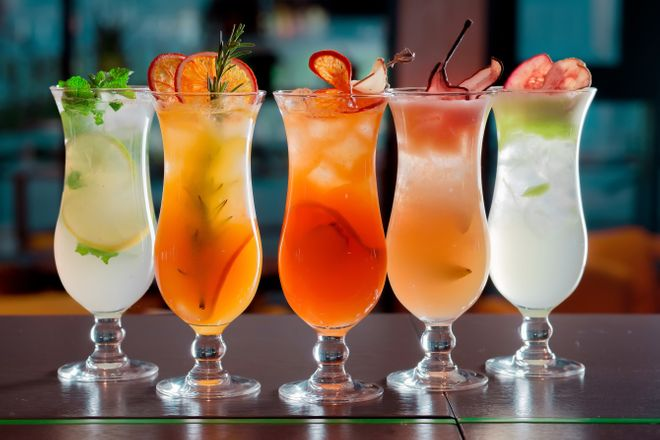 Cocktails agrumes