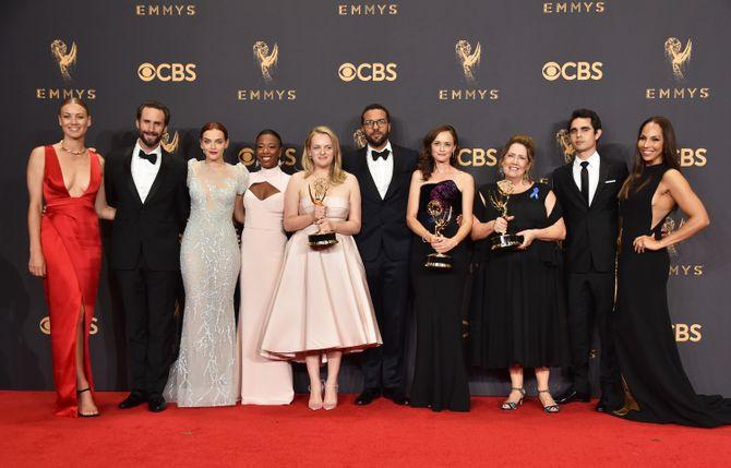 Alfombra roja Premios Emmy 2017