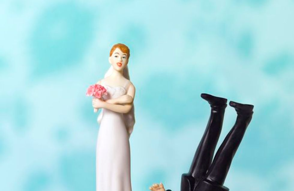 Les pires gâteaux de mariage