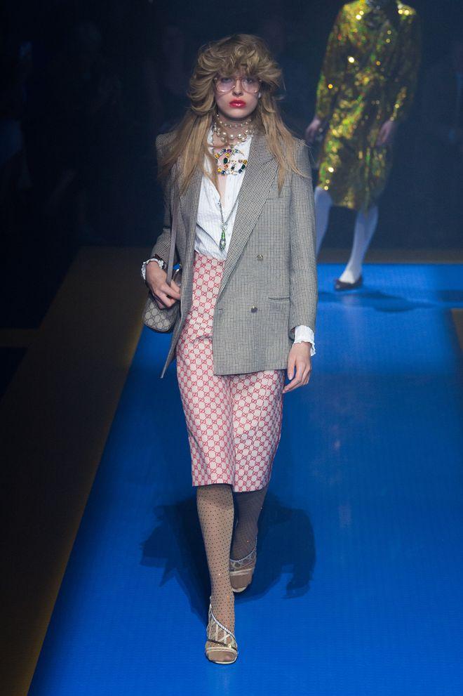 Gucci primavera-verano 2018 Milan Fashion Week