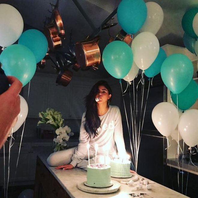 Le gâteau d'anniversaire de Selena Gomez