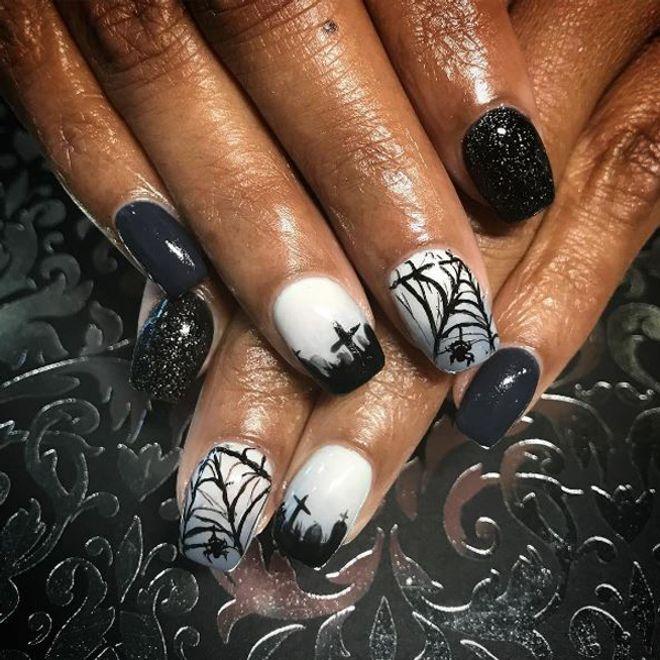 59 idées pour un nail art spécial Halloween
