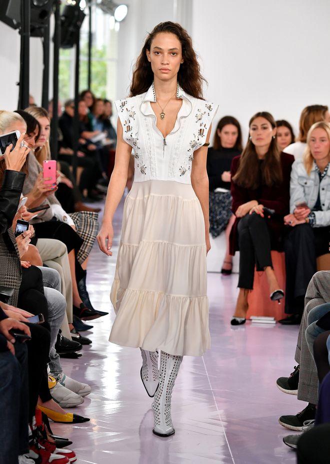 Chloé primavera - verano 2018 Paris Fashion Week
