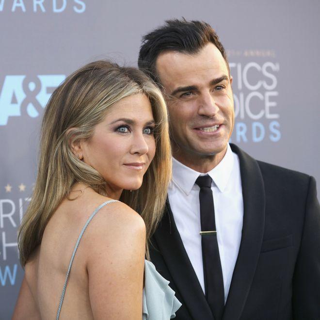 Le coppie vip nate sul set - Jennifer Aniston e Justin Theroux