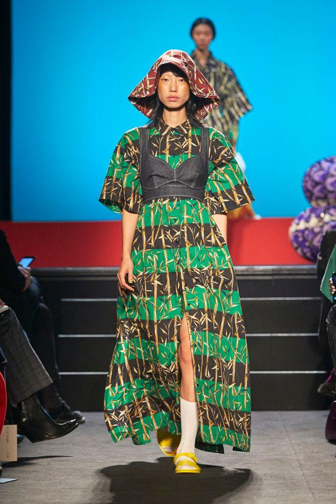 Kenzo en la Paris Fashion Week