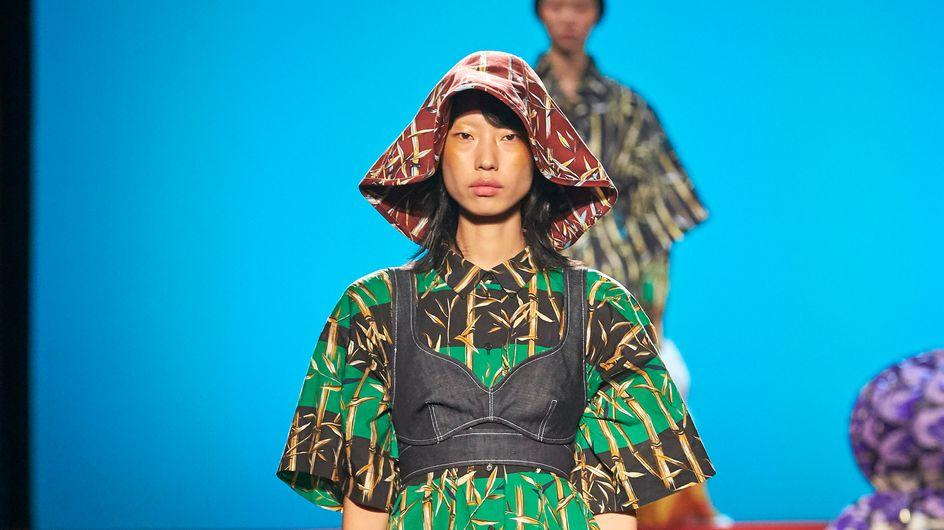 Denim y estampados, señas de identidad de Kenzo en la Paris Fashion Week