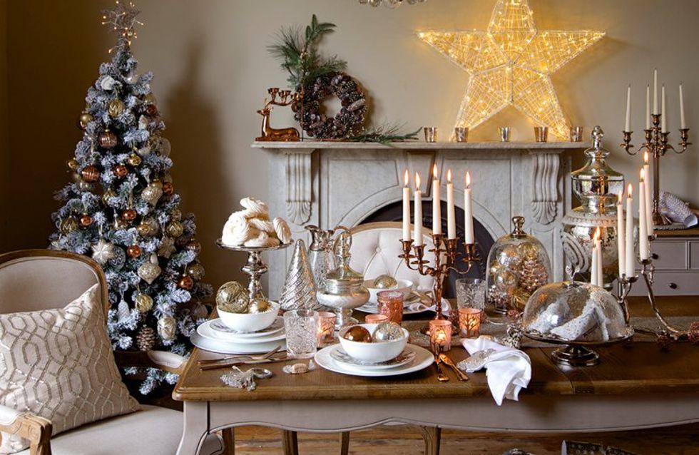 Les plus belles tables de Noël