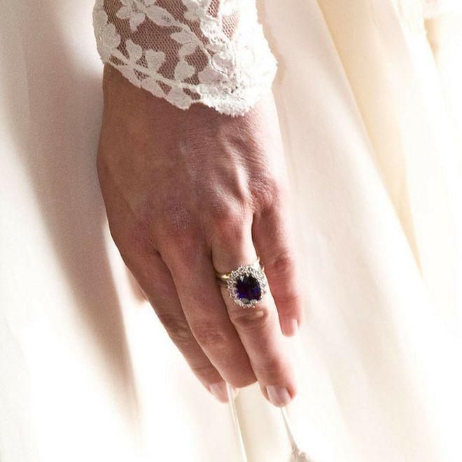 Gli anelli di fidanzamento delle star - Kate Middleton