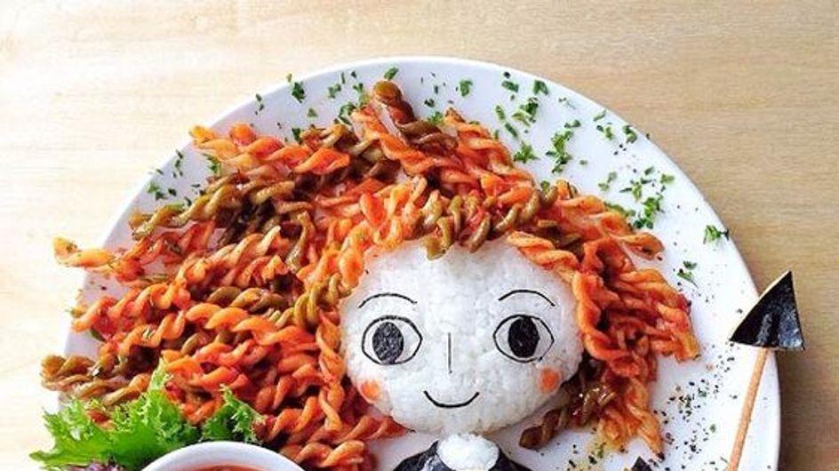 Vos dessins animés préférés dans vos assiettes !