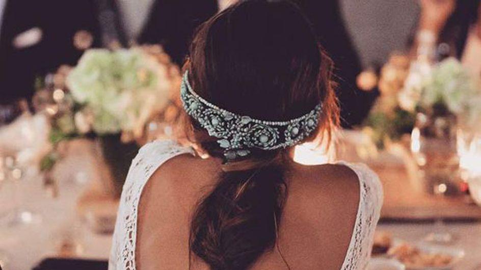 Los mejores recogidos y accesorios para tu boda
