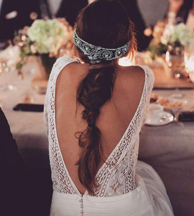 Recogidos y accesorios para novias