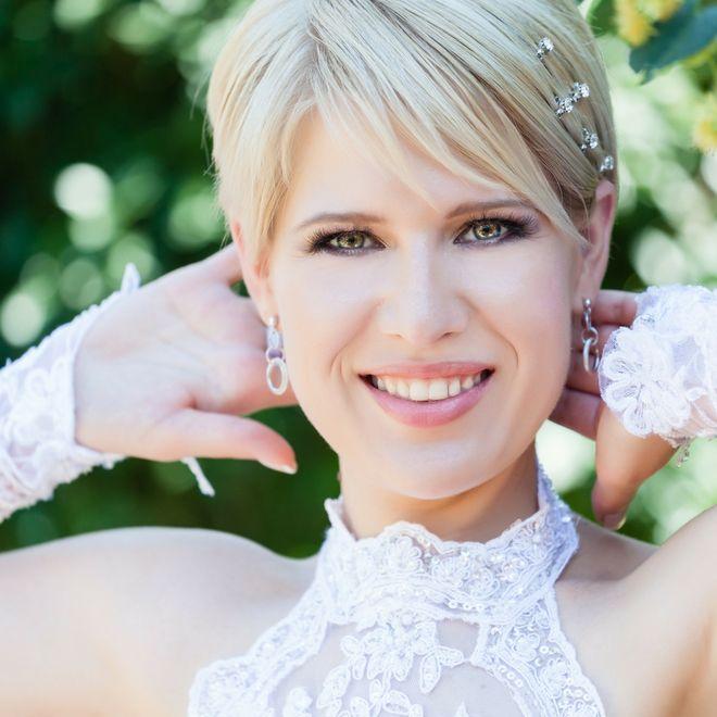 Acconciature Sposa Capelli Corti Tutti Gli Hairstyle Più Belli Per
