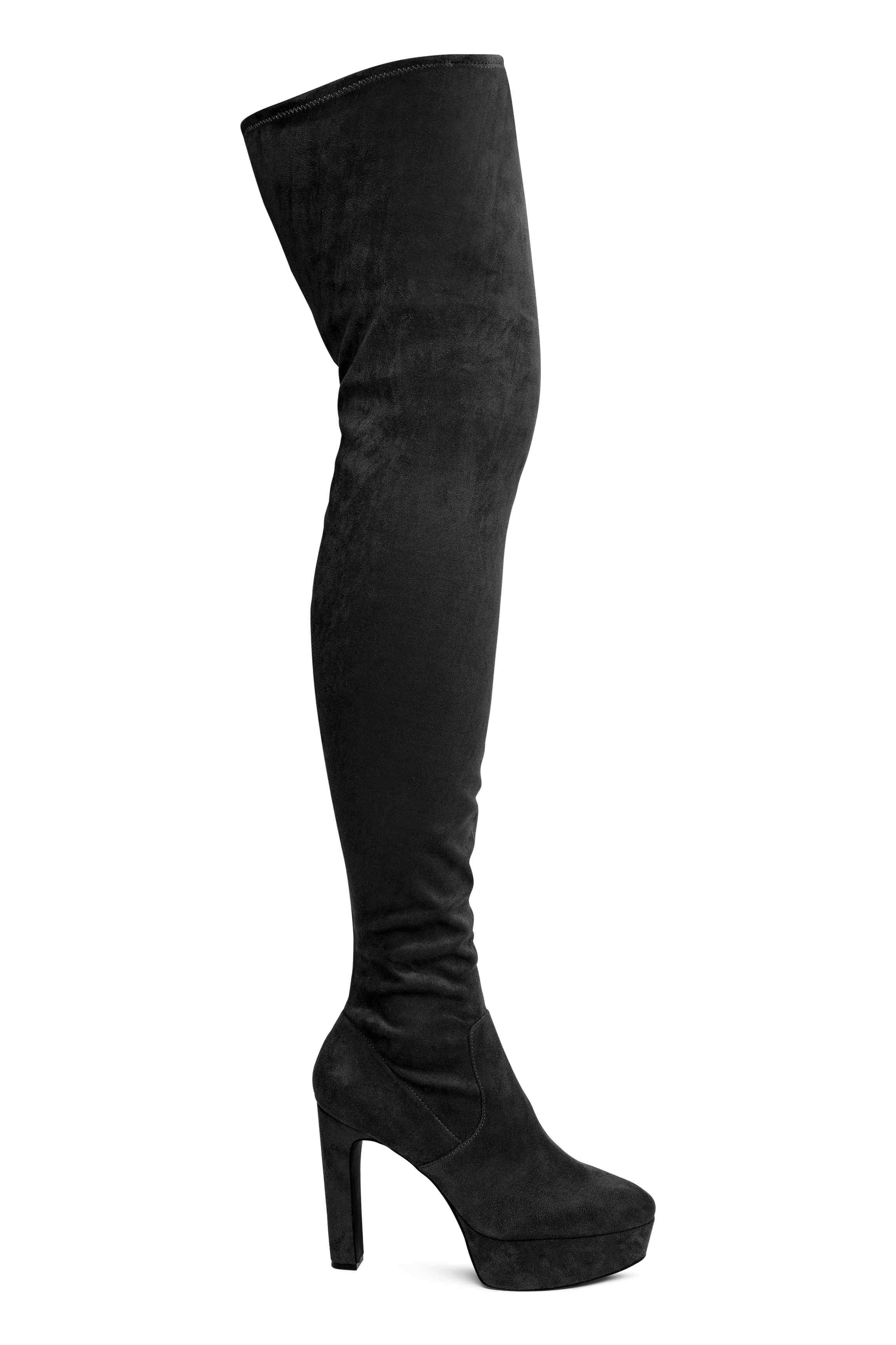 Stivali sopra il ginocchio: i cuissardes più belli di questo