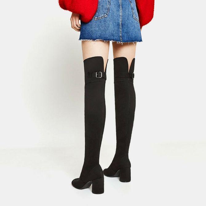 Stivali sopra il ginocchio: i cuissardes più belli di questo autunno