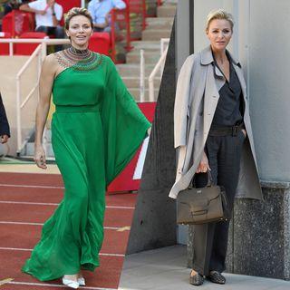 Les looks de la princesse Charlène de Monaco
