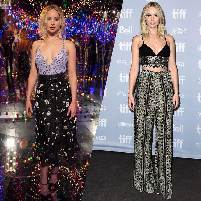 Retour sur les looks de Jennifer Lawrence