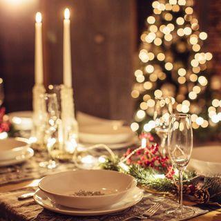 Le decorazioni per la tavola di Natale