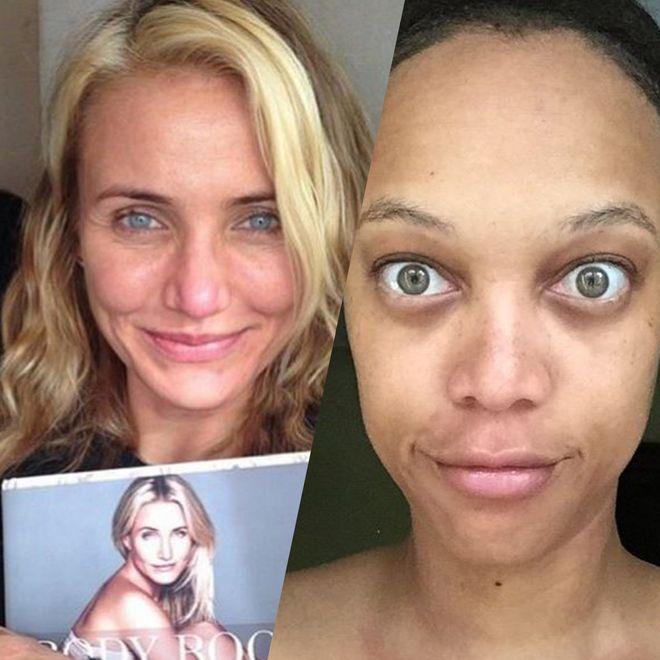 Selfies de stars sans maquillage