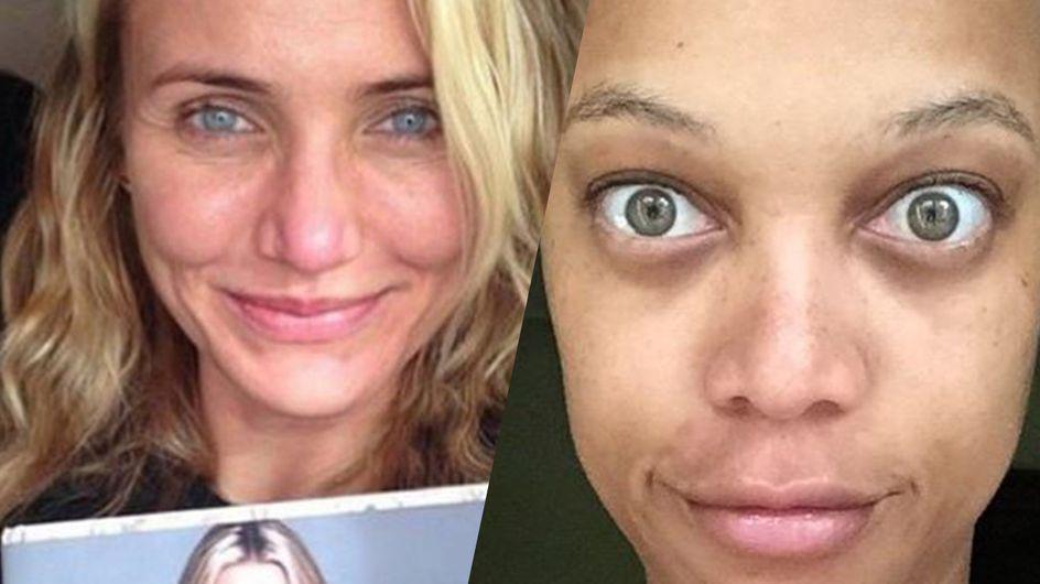 Selfie de stars sans maquillage