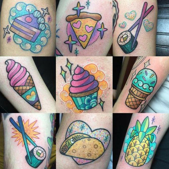 Tatuaggi a tema cibo che vi faranno venire fame!