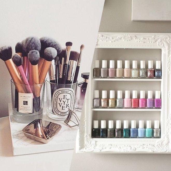 40 idées de rangement pour mes produits de beauté