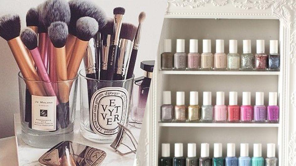 40 idées de rangements pour mes produits de beauté