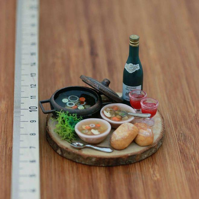 I menù in miniatura di Aaron Shay