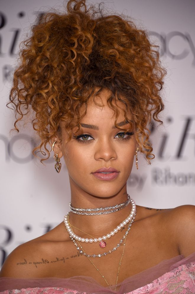 Rihanna's hair in 2015