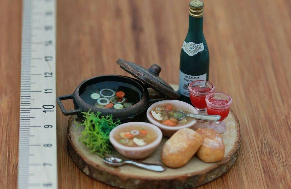 Il cibo in miniatura di Aaron Shay ti lascerà a bocca aperta!