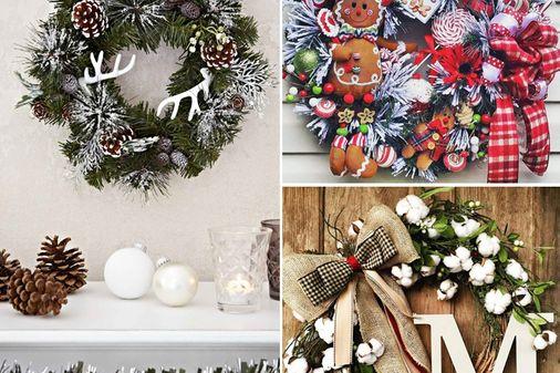 40 zauberhafte Türkranz-Inspirationen zu Weihnachten