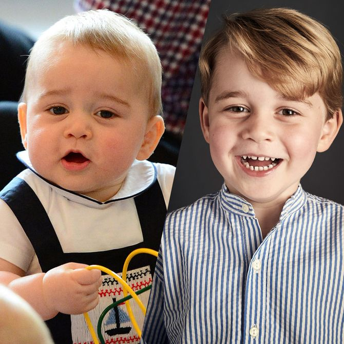 Les photos du prince George