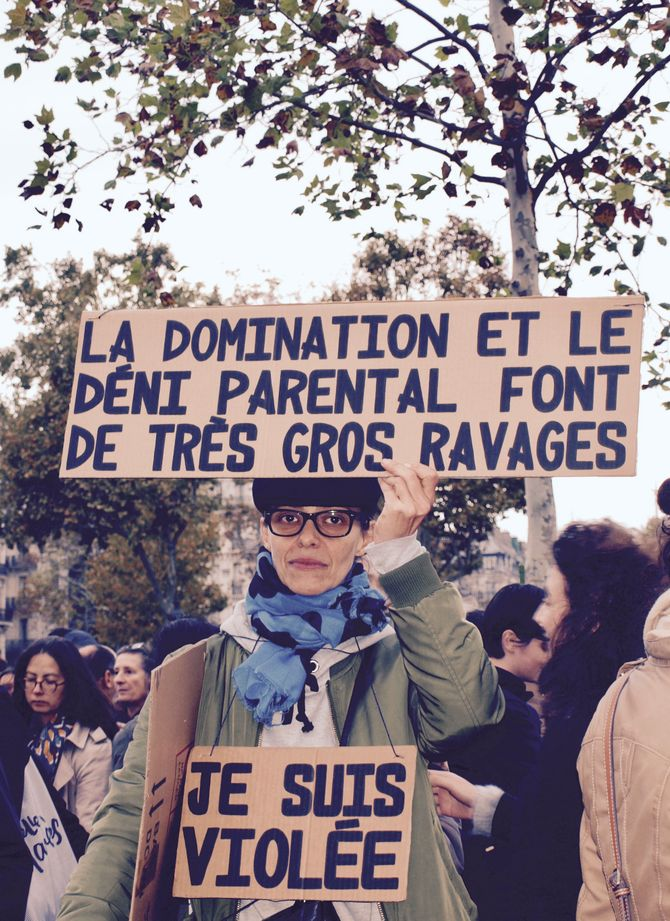 Rassemblement #MeToo - Place de la République