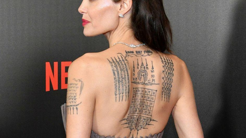 Stylish celebrity tattoos